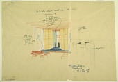 view Rough sketch, function room, wedding, for Uris Hotels digital asset number 1