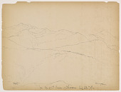 view Sketch from Shoulder of Mount Chocorua digital asset number 1
