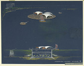 view Design for Undersea Lounge: Scheme 2 digital asset number 1