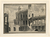 view Stage Design, Palace and Porticoes from Outside digital asset number 1