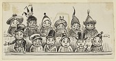 """view Vignette: A Brownie Jury, Illustration for an unidentified """"Brownie"""" book digital asset number 1"""