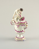 view Potpourri Vase with Figurine of a Boy digital asset number 1