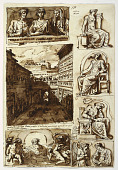 view Various works of art. The court of Palazzo Mattei in Rome digital asset number 1
