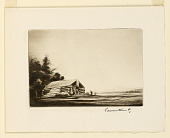 view Trapper's Cabin (Christmas Card) digital asset number 1