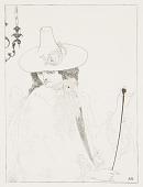 view D'Albert, Six Drawings Illustrating Théophile Gautier's Romance Mademoiselle de Maupin digital asset number 1