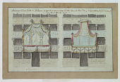 view Two Designs for Decoration of Boxes, Tor di Nona Theater, Rome digital asset number 1