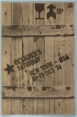 view Designer's Saturday, New York, 1974 digital asset number 1