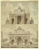 view Design for Two Triumphal Arches digital asset number 1