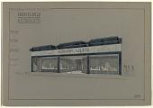 view Facade des Magasins de M.M. Mappin & Weeb, Florida 32, Buenos Aires [Shop Facades of M.M. Mappin & Weeb, Florida 32, Buenos Aires] digital asset number 1