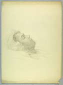 view Death Portrait of Eleanor Garnier Hewitt (died Nov. 27, 1924) digital asset number 1