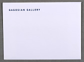 view Envelope for Gagosian Gallery, New York digital asset number 1