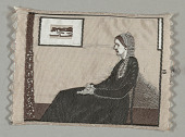 view Arrangement in Grey and Black No. 1 (Portrait of the Artist's Mother) digital asset number 1