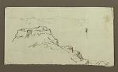 view Village, mountainous shore; verso: Mountains, shore, boat digital asset number 1