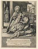 view St. Anne, the Virgin and the Christ Child digital asset number 1