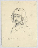 view Study for Portrait of a Child digital asset number 1