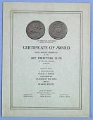 view Certificate, Art Directors Club Award digital asset number 1