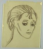 view Female Head, Eyes Glancing Left digital asset number 1