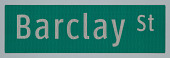 view ClearviewHwy® Typeface: Barclay St digital asset number 1
