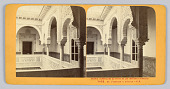 view Stereograph: Interior of Alcazar Palace, Seville, Spain digital asset number 1