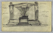 view Sketch for a War Memorial digital asset number 1