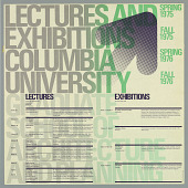 view Lectures and Exhibitions, Columbia University Graduate School of Architecture and Drawing digital asset number 1