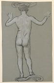 view figure study: design for a fountain digital asset number 1