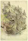 view Study of Cliffs, Mt. Desert, Maine digital asset number 1