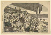 view Our watering places--horse racing at Saratoga, Harper's Weekly digital asset number 1