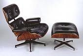view No. 670 (chair), No. 671 (ottoman) digital asset number 1