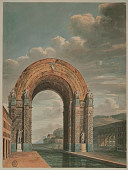 view Entrance to the Navy Arsenal in Toulon digital asset number 1
