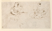 view Seated Woman, Mother and Child digital asset number 1