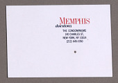 view Memphis (Condominiums): Business Card digital asset number 1