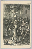 view The Mighty Drum-Major, Illustration for Harper's Weekly (XVI, July 13, 1872, p. 552) digital asset number 1