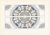 view Ceiling design print for Knoll Center, New York, New York, USA digital asset number 1