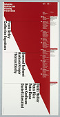 """view """"Fall 1989"""" poster for Columbia School of Architecture lecture series digital asset number 1"""