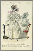 view Fashion Plate from Le Mercure des Salons, Modes de Paris digital asset number 1