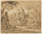 view Design for a Tapestry: Allegory of Africa digital asset number 1