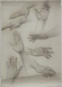 view Studies of Hands digital asset number 1