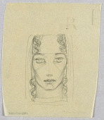 view Female Head, Frontal View digital asset number 1