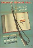 view Las Milicias de la Cultura/Luchan Contra el Fascismo Combatiendo la Ignorancia (The Militias of the Culture Fight Against Fascism Fighting Ignorance) digital asset number 1
