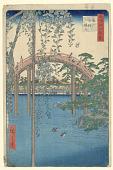 view Tenjin Shrine at Kameido from One Hundred Views of Edo digital asset number 1