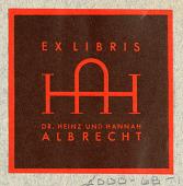view Dr. Heinz und Hannah Albrecht [Dr. and Mrs. Heinz Albrecht] digital asset number 1