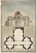 view Section, Small Domed Building digital asset number 1