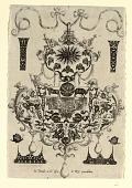 view Pendant Design with the Temptation, Plate 1, from a series of eight pendant designs with the cardinal virtues digital asset number 1