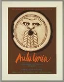 "view ""Aulularia, La Historia de Una Olla""/Plauto/Departamento de Drama Humanindades U.P.R. [Theater poster] digital asset number 1"
