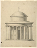 view Design for the Elevation of a Circular Pavilion digital asset number 1