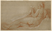 view Study for Reclining Nude digital asset number 1