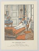 view Gazette du Bon Ton (Journal of Good Taste), Chez Mercier Frères (At the House of Mercier Brothers) digital asset number 1