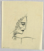 view Female Head, Right Profile digital asset number 1