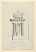 view Design for a Sepulchral Monument digital asset number 1